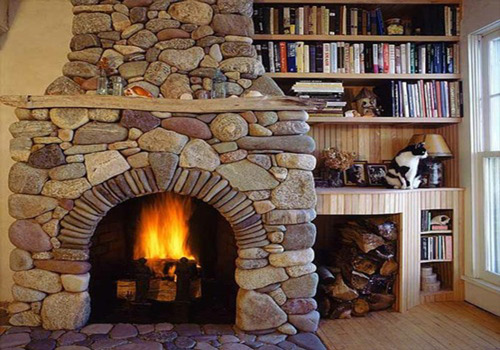 Fireplace and natural light add value to a home showing.