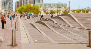 Cyclists; Pedestrians Welcome at Revitalized Queen's Quay