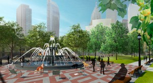 Construction Check-In: Berczy Park & the L-Tower Plaza