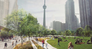Toronto Planning New Park Atop Urban Railway