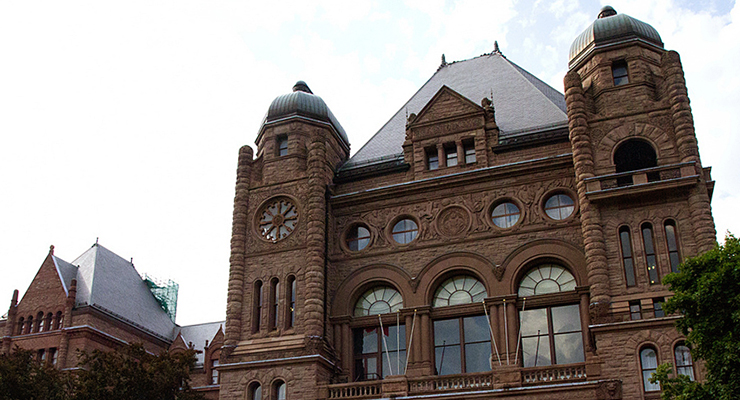 The Legislative Assembly of Ontario. [Image via Alex Gulbord.]