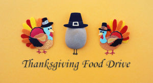 Living Realty running Thanksgiving food drive