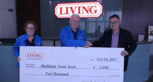 Living Realty celebrates a successful food drive