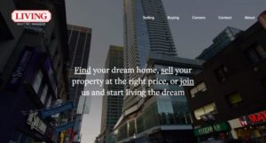 Living Realty launches redesigned corporate website