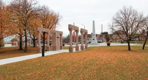 Markham Cenotaph and Veterans Square