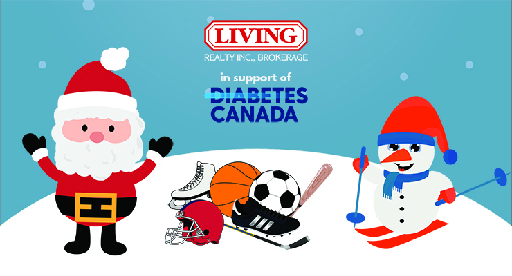Living Realty launches festive sports equipment drive