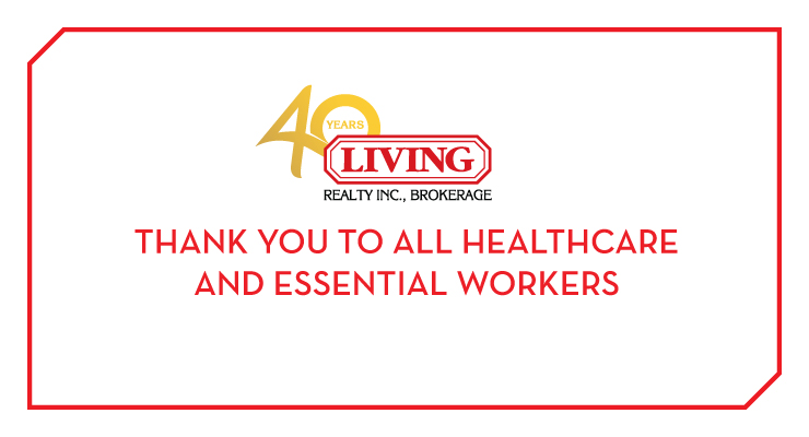 Thank you to healthcare and essential workers