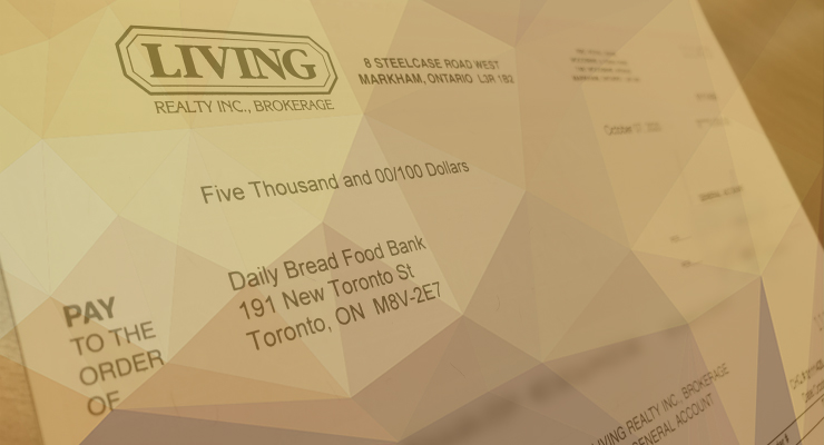 Living Realty celebrates successful fall fundraiser